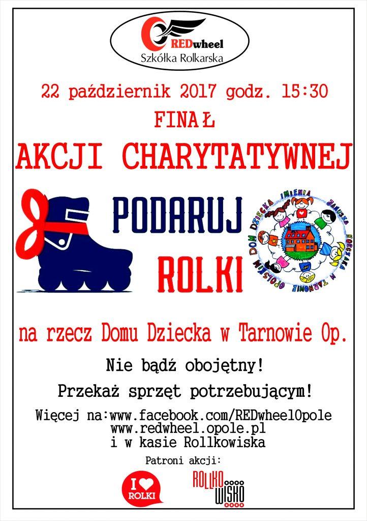 Podaru rolki plakat Tarnów Opolski