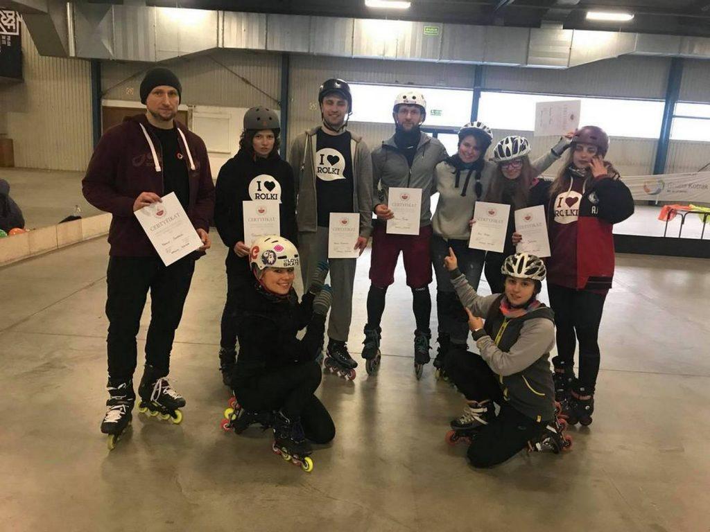 Szkolenie PZSW luty 18 Skate in Park