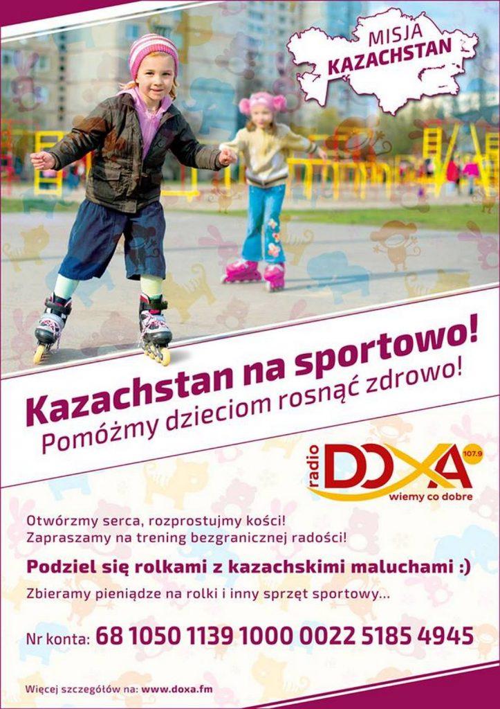 plakat Misja Kazachstan